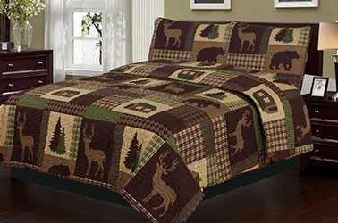 Rustic Comforters and Quilts