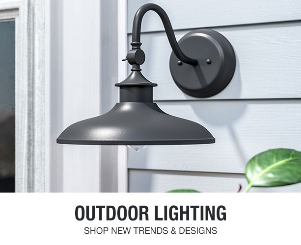 Shop and save on exterior light fixtures.