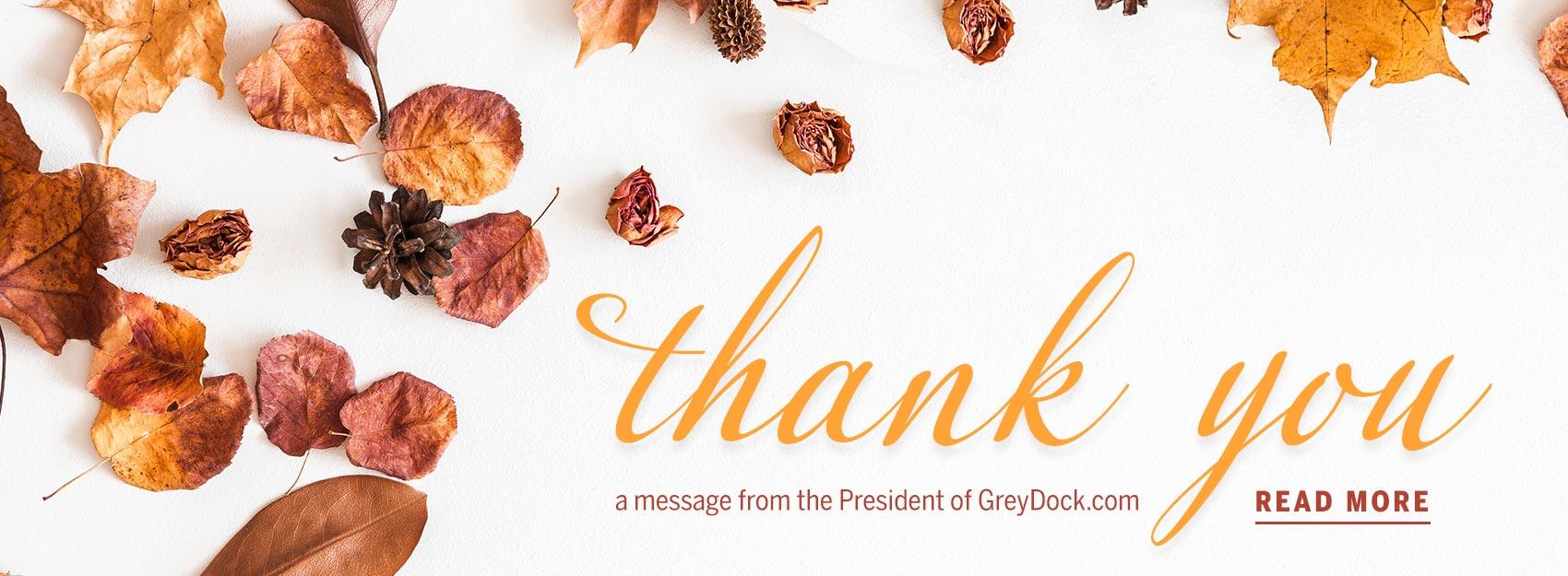 Customer Appreciation: Thank You