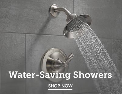 Shop and save on water-saving shower heads and handheld showers.
